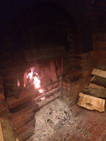 Stevenage, UK: Real fire