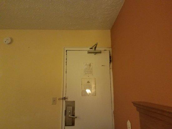 Henrietta, NY: Door to the hallway