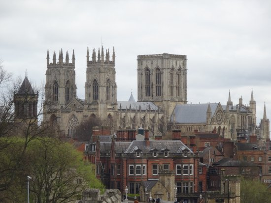 The Grand Hotel Spa View Of York Minster From City Walls Opposite