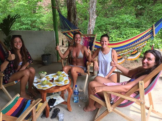 Playa Maderas, Nicaragua: Lunch at the jungle dream