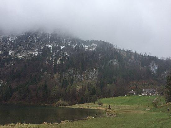 Gmunden, Østerrike: csodás kilátás
