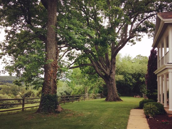 Staunton, VA: The rear of the house has stunning views out over the valley
