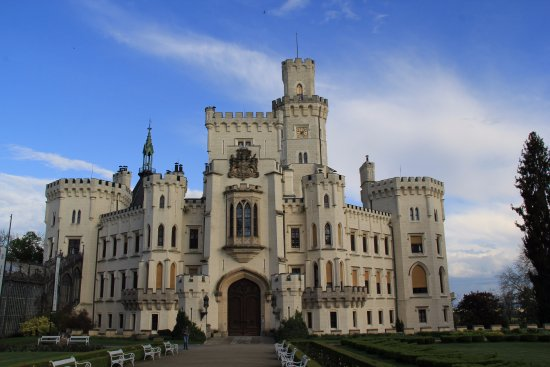 Hluboka nad Vltavou, Czech Republic: Замок