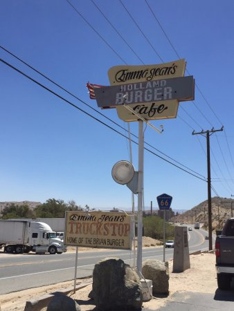 Victorville, Califórnia: Emma Jean's Sign