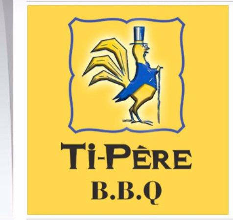 Saint Hyacinthe, Канада: Logo du restaurant Ti-Père BBQ