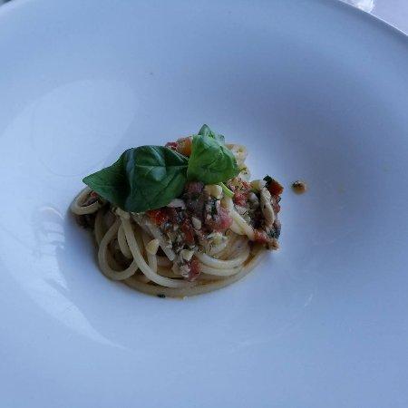 Mirabelle: Spaghetti alla trapanese