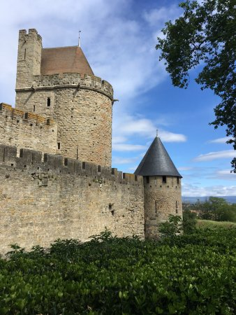 Mazamet, Fransa: The fantastic Carcasonne Castle...