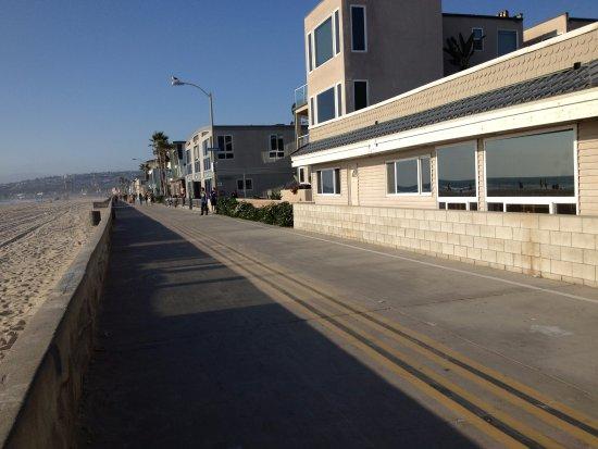Coronado, CA: Calçadão