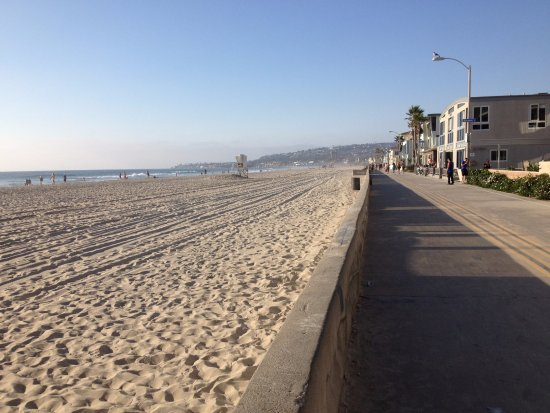 Coronado, CA: Muito longo