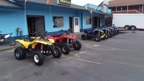 Winchester Bay, OR:  Atv Rentals on the Oregon Coast