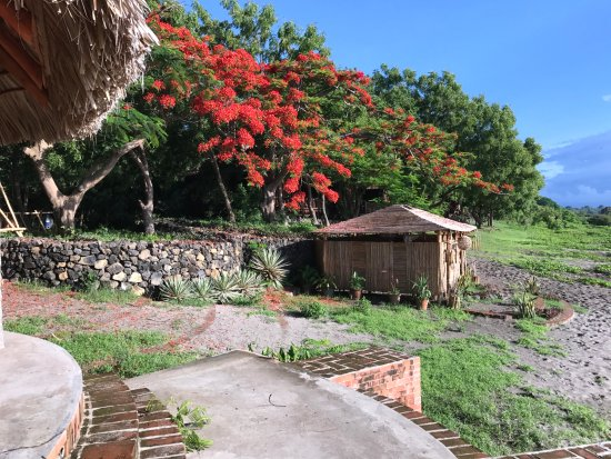 Altagracia, Nicaragua: Shower house by the lake