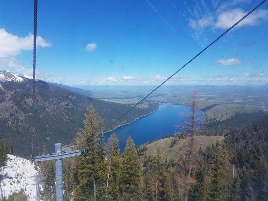 Joseph, Oregón: View from the tram- Wallowa Lake