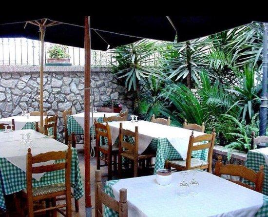 Cori, Italië: Il nostro giardino interno