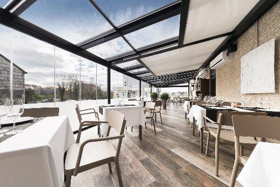 Vedra, Espanha: Terraza