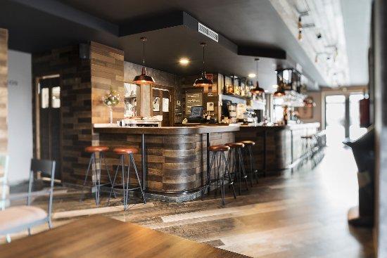 Vedra, Espanha: Vista parcial de la cafeteria