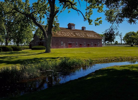 North Platte, NE: Barn on Buffalo Bill's Ranch