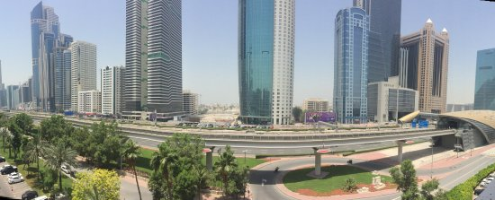 The Apartments Dubai World Trade Centre View From On Of One Bedroom Deluxe Apartment