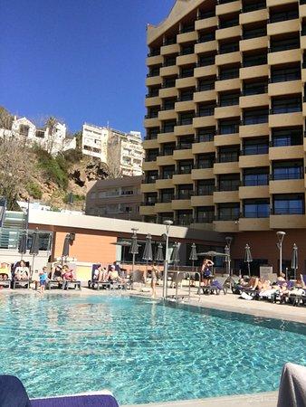 unique view ans pool area picture of melia costa del sol. Black Bedroom Furniture Sets. Home Design Ideas