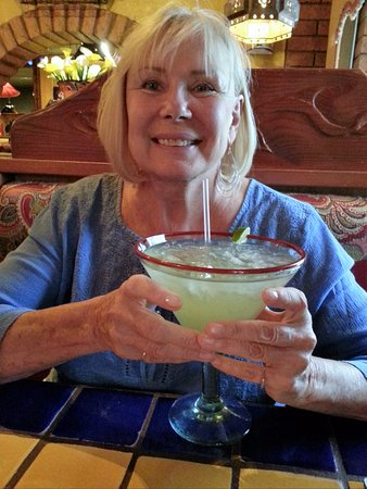 Surprise, AZ: A GRANDE Margarita... need to be really thirsty & have designated driver! Fully loaded drink! Yu