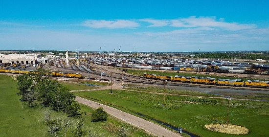 North Platte, NE: Bailey Rail Yard - World's Largest