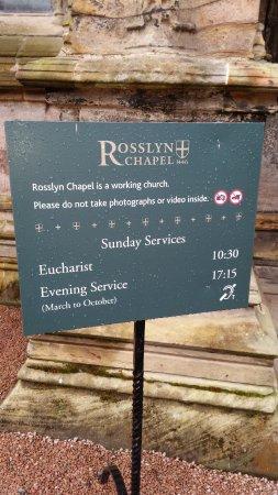 Roslin, UK: Horaires...