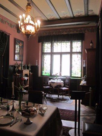 Musee Art Nouveau: Интерьер столовой комнаты