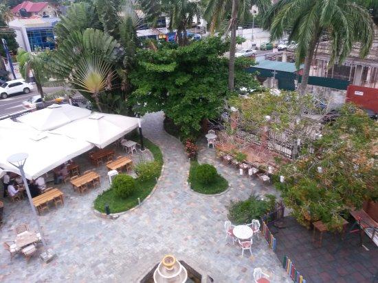 Bosphorus Accra: Restaurant Grounds