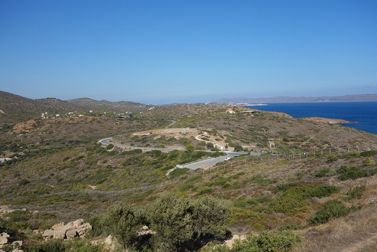 Sounio, Grecia: The view from the Temple of Poseidon