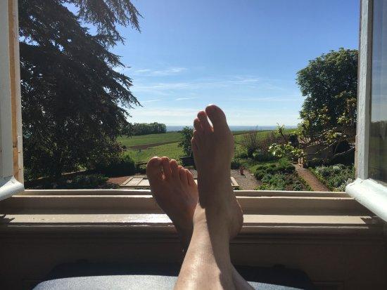 Saint-Julien, Frankrike: relaxen op de kamer