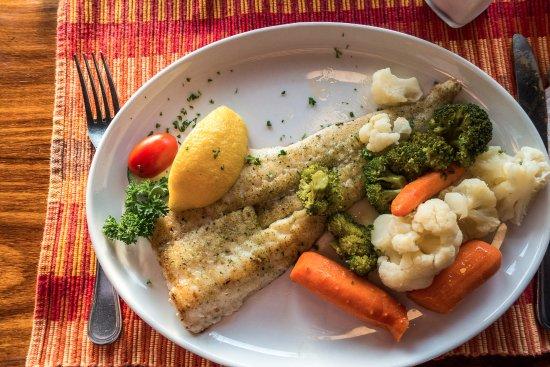 Kucki's Pub: Fisch mit Gemüse