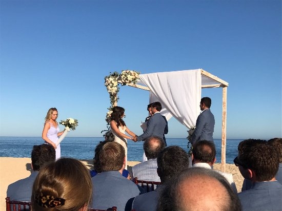 Sheraton Grand Los Cabos Hacienda del Mar: Beach Wedding
