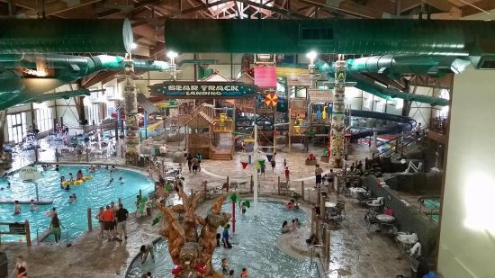 Great Wolf Lodge: Main waterpark area