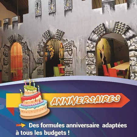 Quetigny, France: Les salles anniversaire