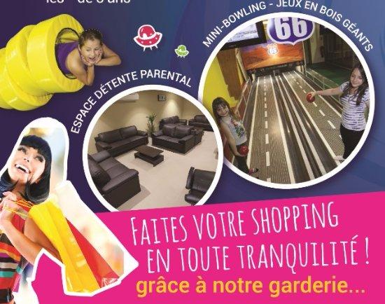 Quetigny, France: La salle VIP Parents, le bowling...