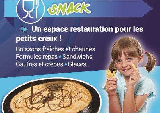 Quetigny, France: Le snack