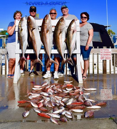 Panama City Beach, FL: Amberjack, Vermillion Snapper, White Snapper