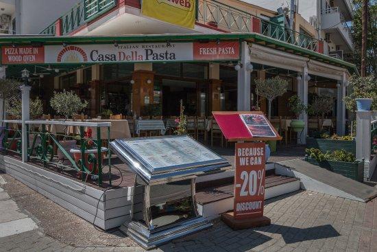 Casa Della Pasta: Außenansicht