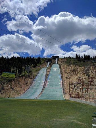 Park City, UT: bottom of nordic ski jump