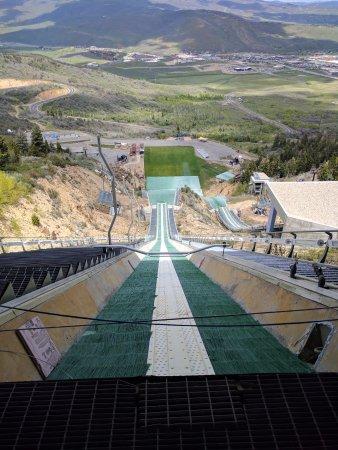 Park City, UT: top of nordic ski jump