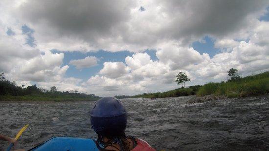 San Pedro, Costa Rica: bei der FAhrt