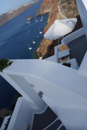 Katikies Hotel: Room 14 has the best views...