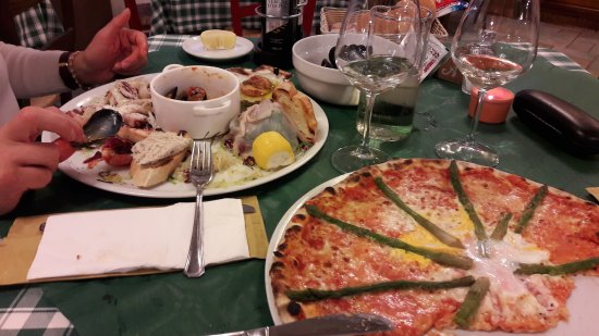 Ristorante Pizzeria Danubio: Wow!!!!