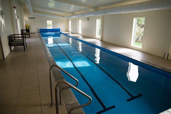 Martinborough, New Zealand: Inoor heated lap pool