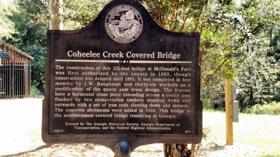 Blakely, GA: Coheelee Creek Covered Bridge