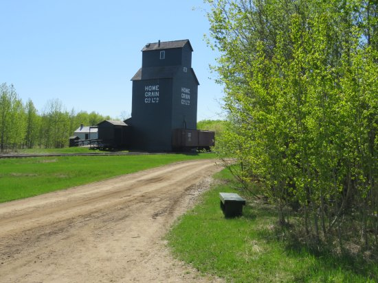 Sherwood Park, แคนาดา: Interesting grain elevator