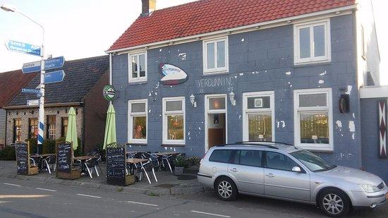 Bruinisse, Nederland: 't Veerhuis aan het eind van Yerseke> Kapelle