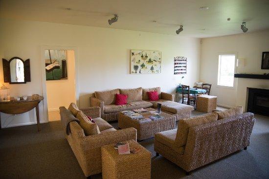 Martinborough, نيوزيلندا: Spa lounge