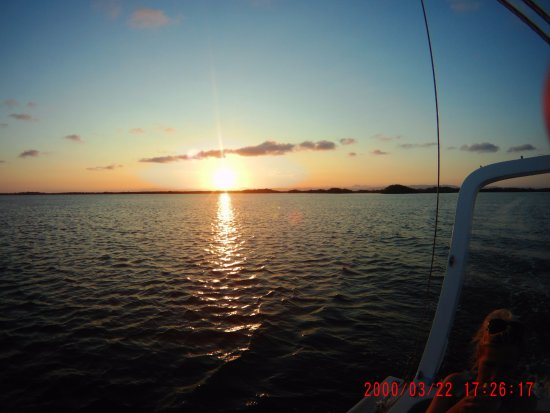 Placencia, Belice: Sunset