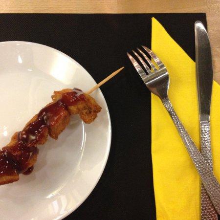 Mislata, Spania: Brocheta de pollo