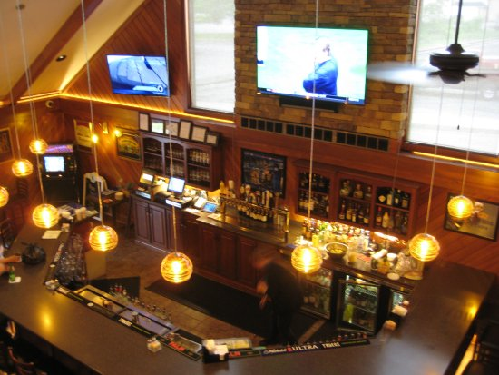 Burnham, PA: Looking Down on the Bar